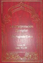 Libro La Interpretación Ejemplar del Sagrado Corán (Tafsir Nemune) - Tomo 26 - Suras 78 a 89.jpg